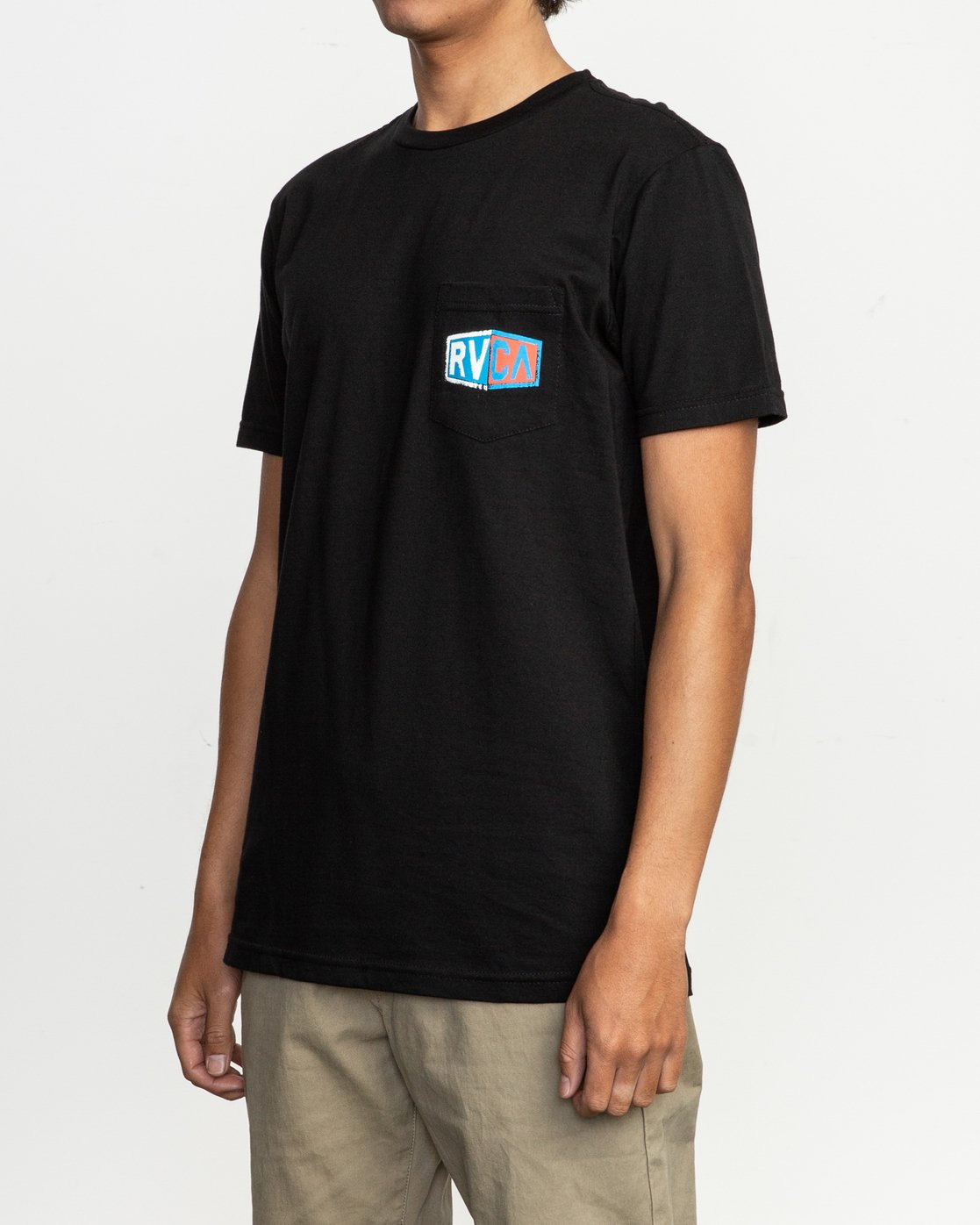 3 Carborator T-Shirt Black M412TRCA RVCA