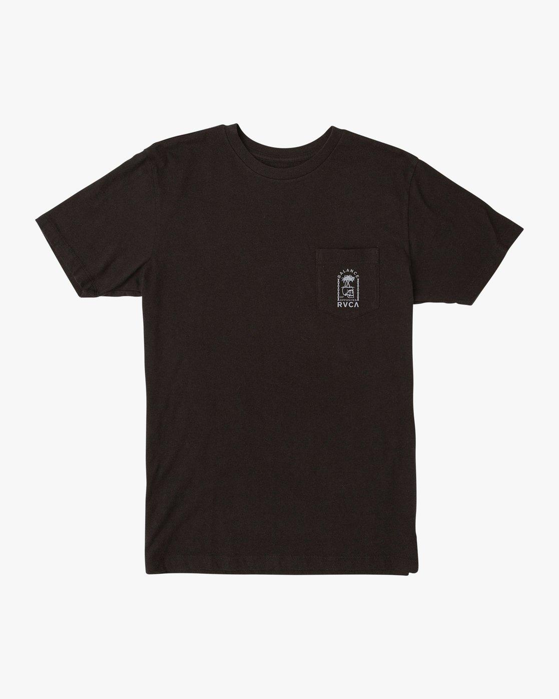 1 Bad Palms T-Shirt Black M412URBA RVCA