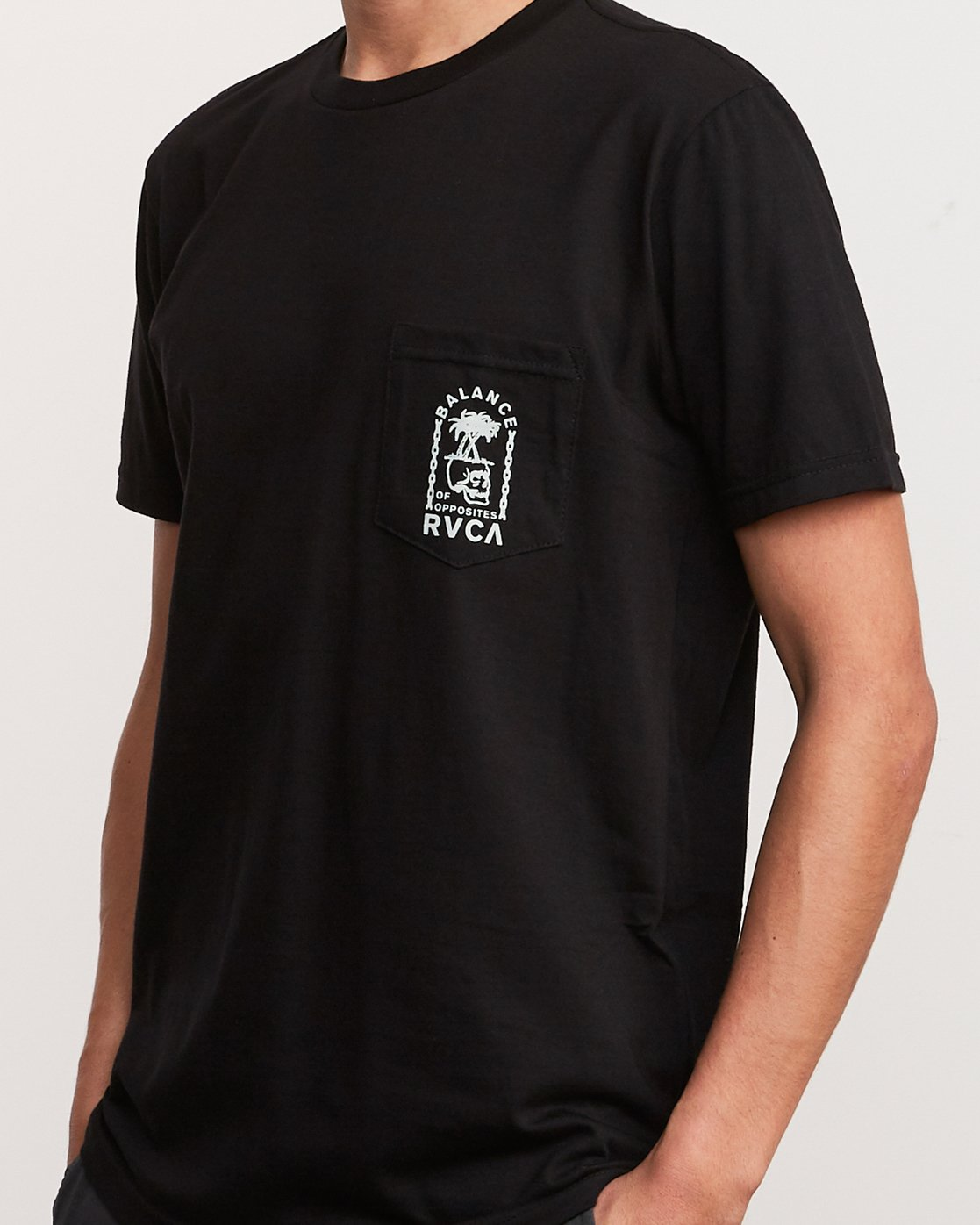 5 Bad Palms T-Shirt Black M412URBA RVCA
