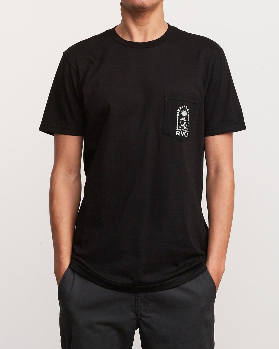 2 Bad Palms T-Shirt Black M412URBA RVCA