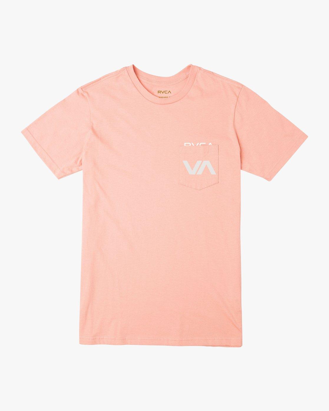 0 Over Under T-Shirt Orange M412UROV RVCA