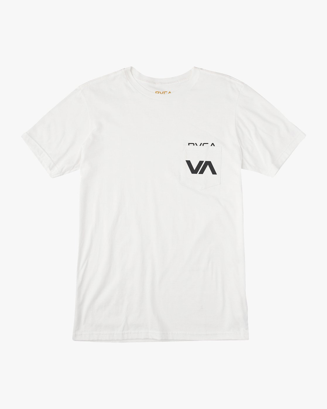 0 Over Under T-Shirt White M412UROV RVCA