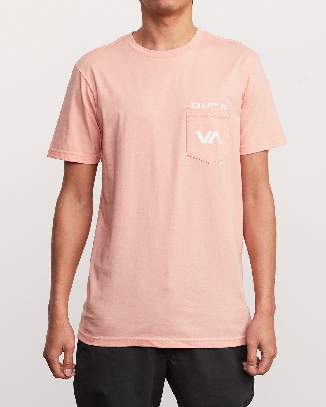 1 Over Under T-Shirt Orange M412UROV RVCA