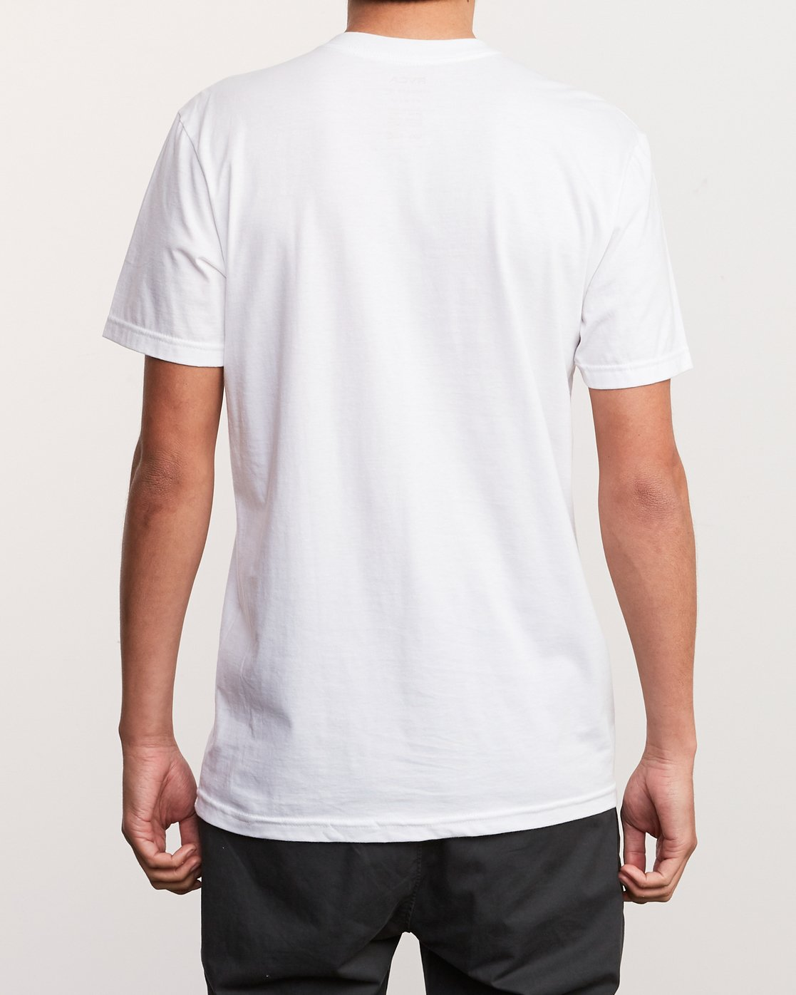 4 Over Under T-Shirt White M412UROV RVCA