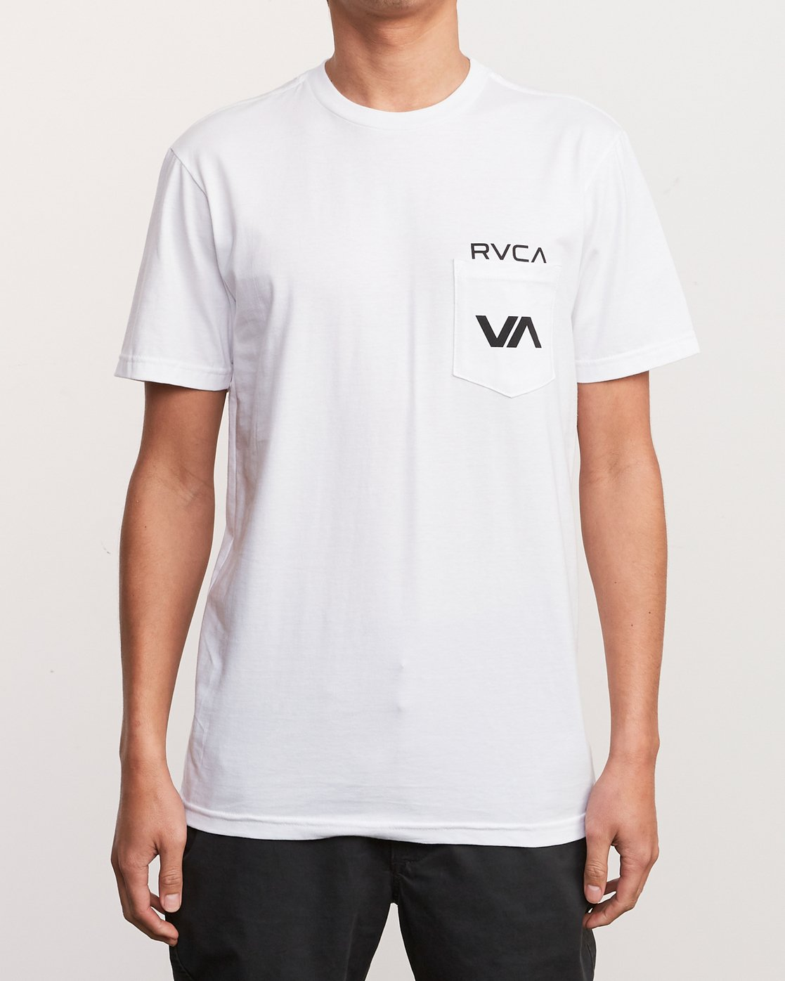 2 Over Under T-Shirt White M412UROV RVCA