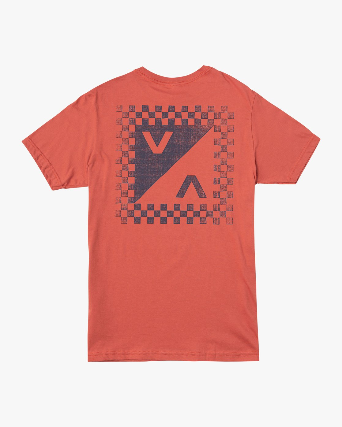 0 Check Mate Pocket T-Shirt Green M412VRCH RVCA
