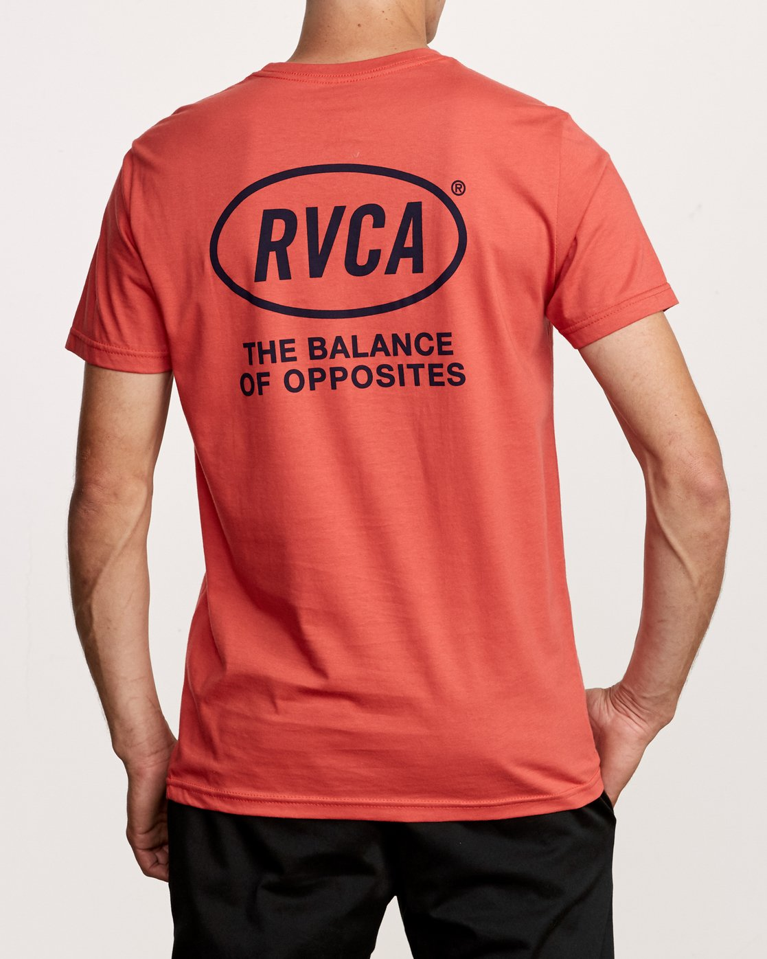 4 Labour T-Shirt Green M412VRLA RVCA