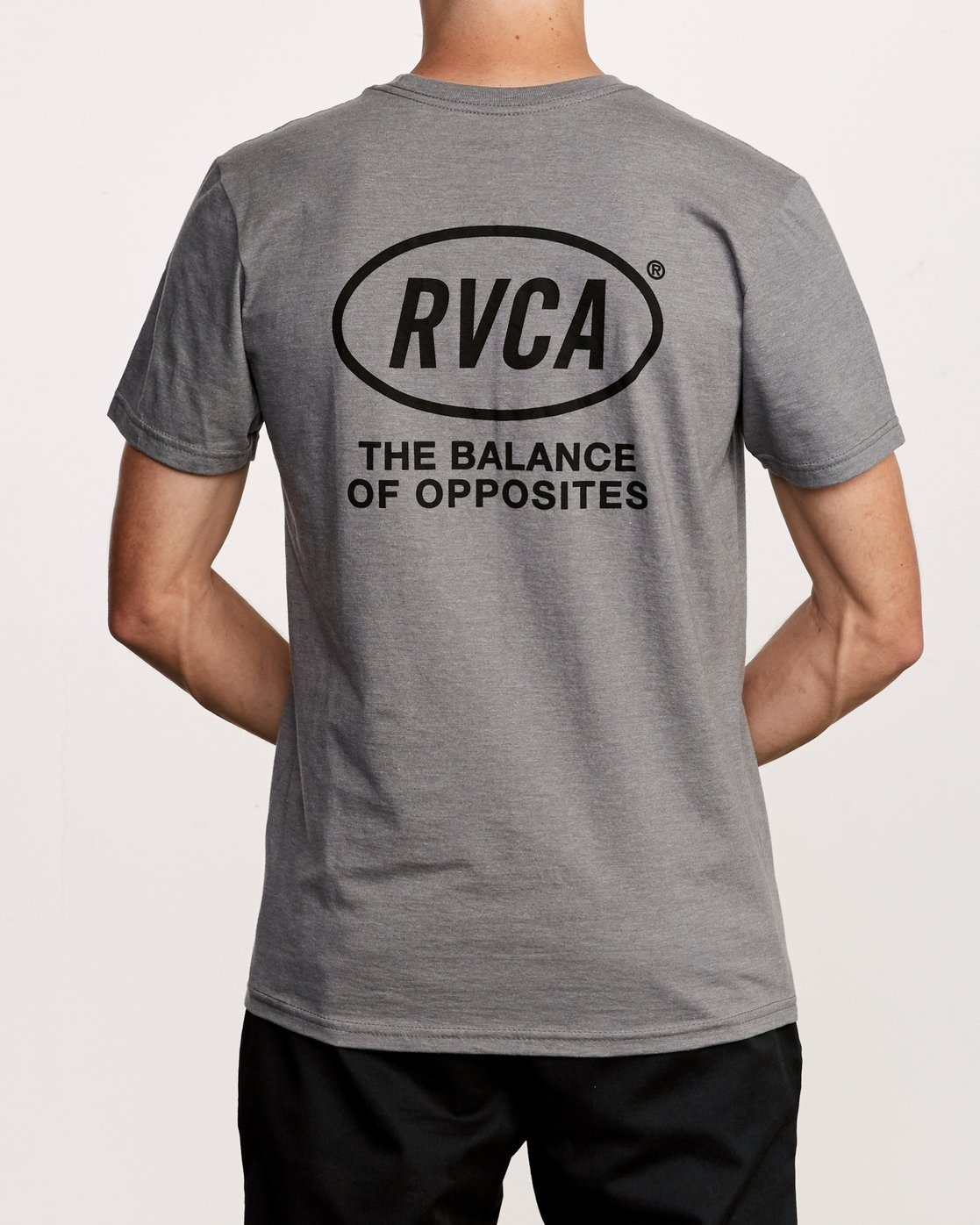 4 Labour T-Shirt Grey M412VRLA RVCA