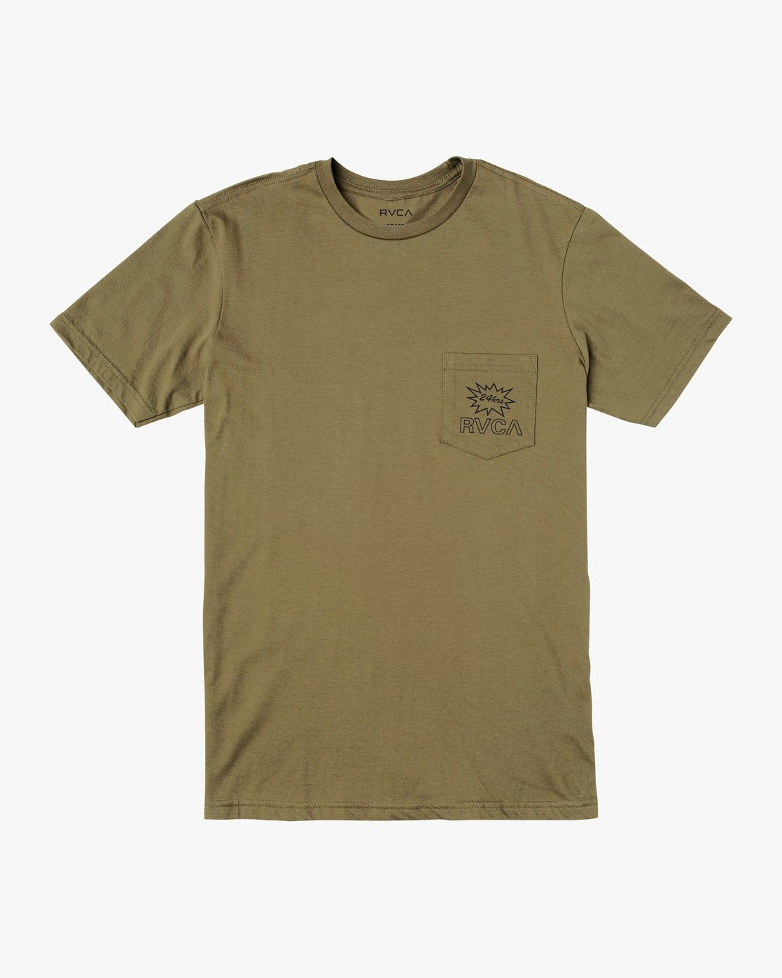 1 Pest Control Pocket T-Shirt Green M412VRPC RVCA