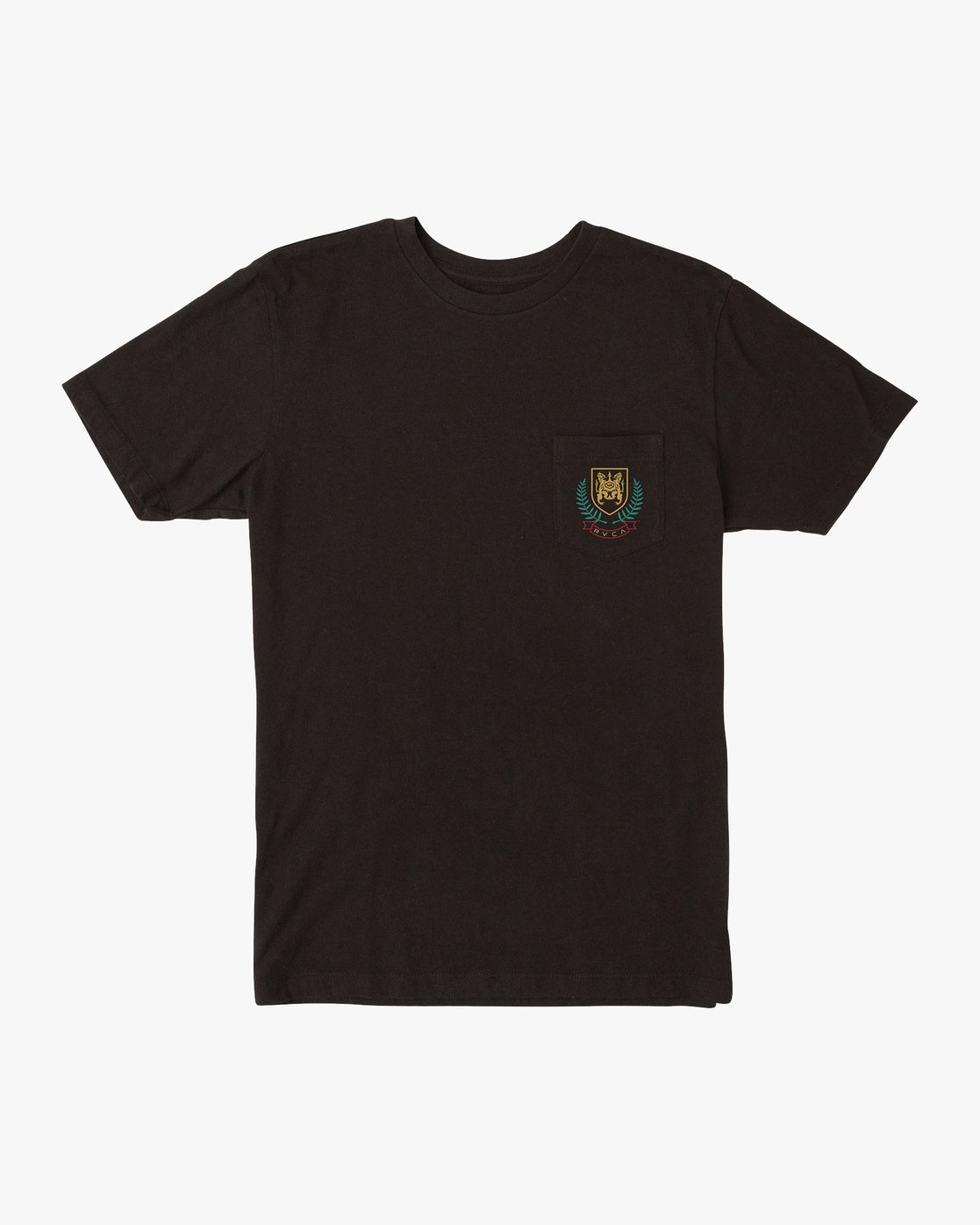 0 Royale Pocket T-Shirt Black M412VRRO RVCA