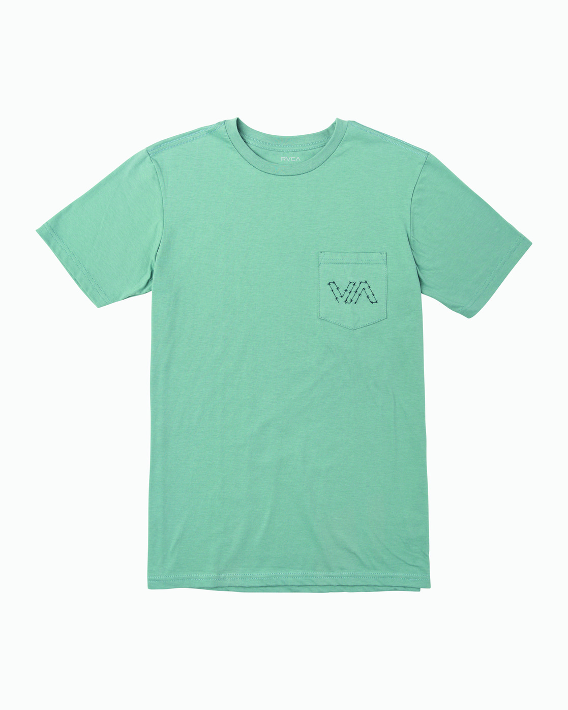 1 Barbed T-Shirt Green M412WRBA RVCA