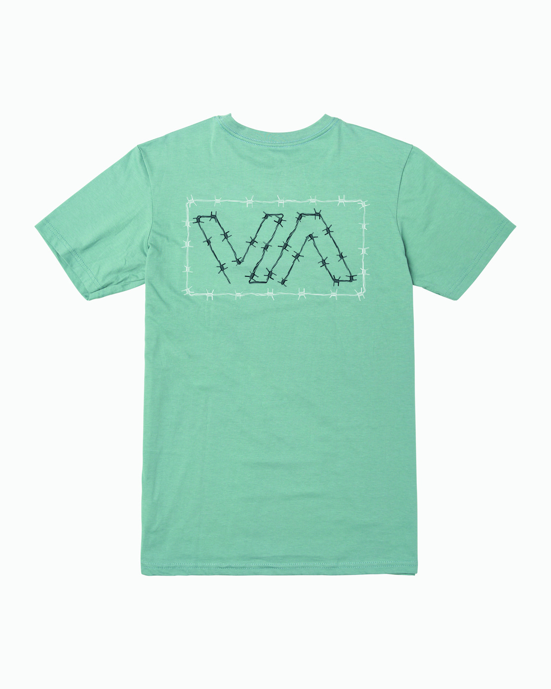 0 Barbed T-Shirt Green M412WRBA RVCA