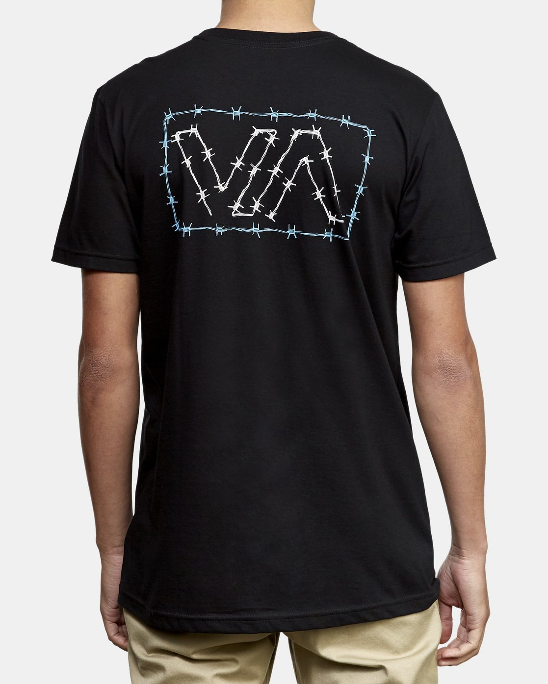 4 Barbed TEE Black M412WRBA RVCA