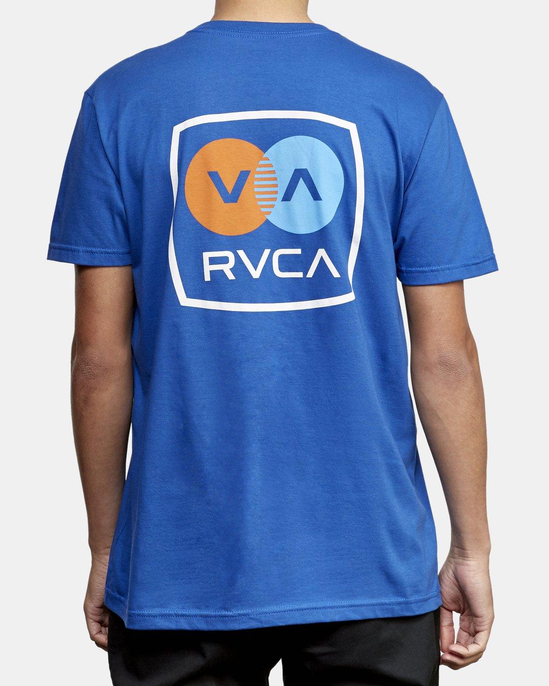 4 TV Corpo T-Shirt Blue M412WRTV RVCA