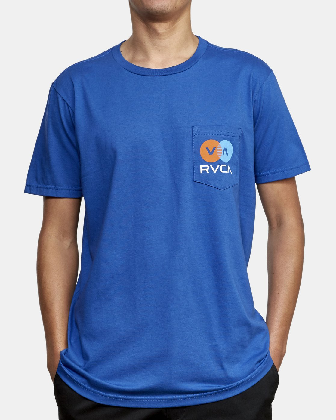 3 TV Corpo T-Shirt Blue M412WRTV RVCA