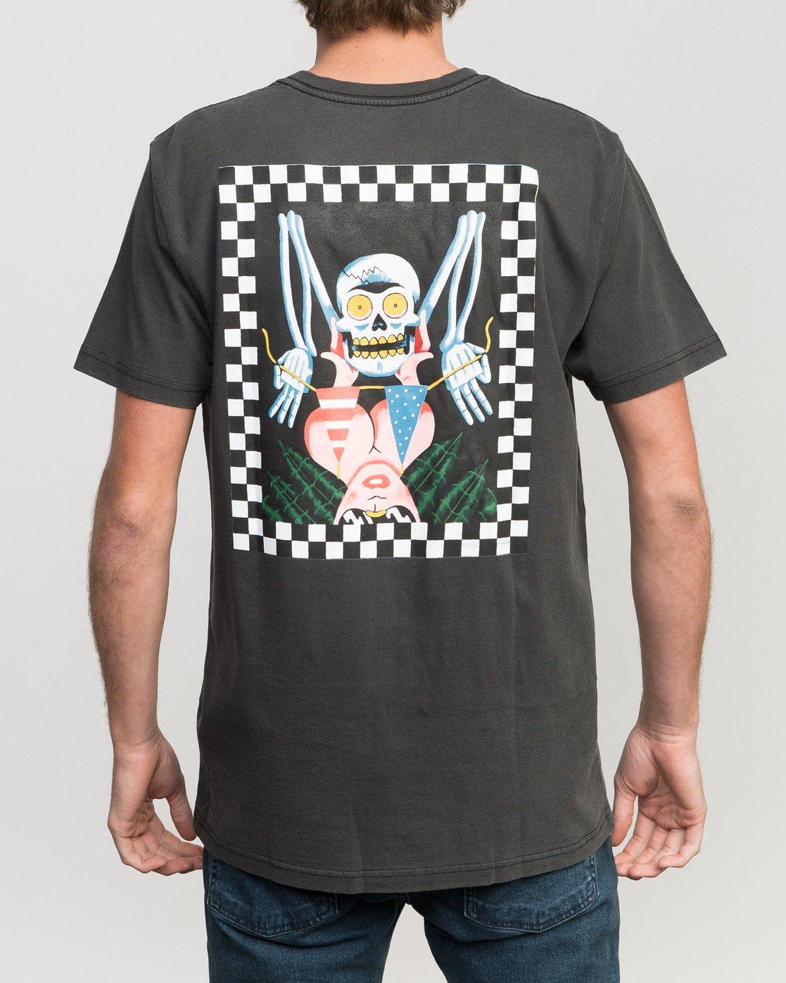 4 Luke Pelletier Crypt Party T-Shirt  M413PRCR RVCA