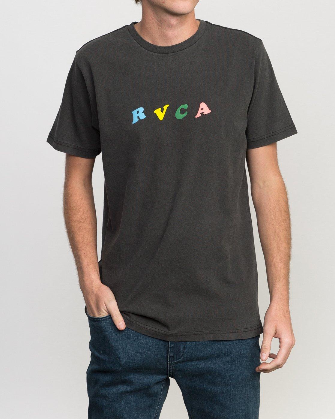2 Luke Pelletier Crypt Party T-Shirt  M413PRCR RVCA
