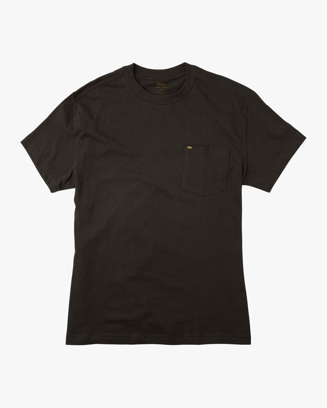 0 Day Shift Label Pocket T-Shirt  M414SRDE RVCA
