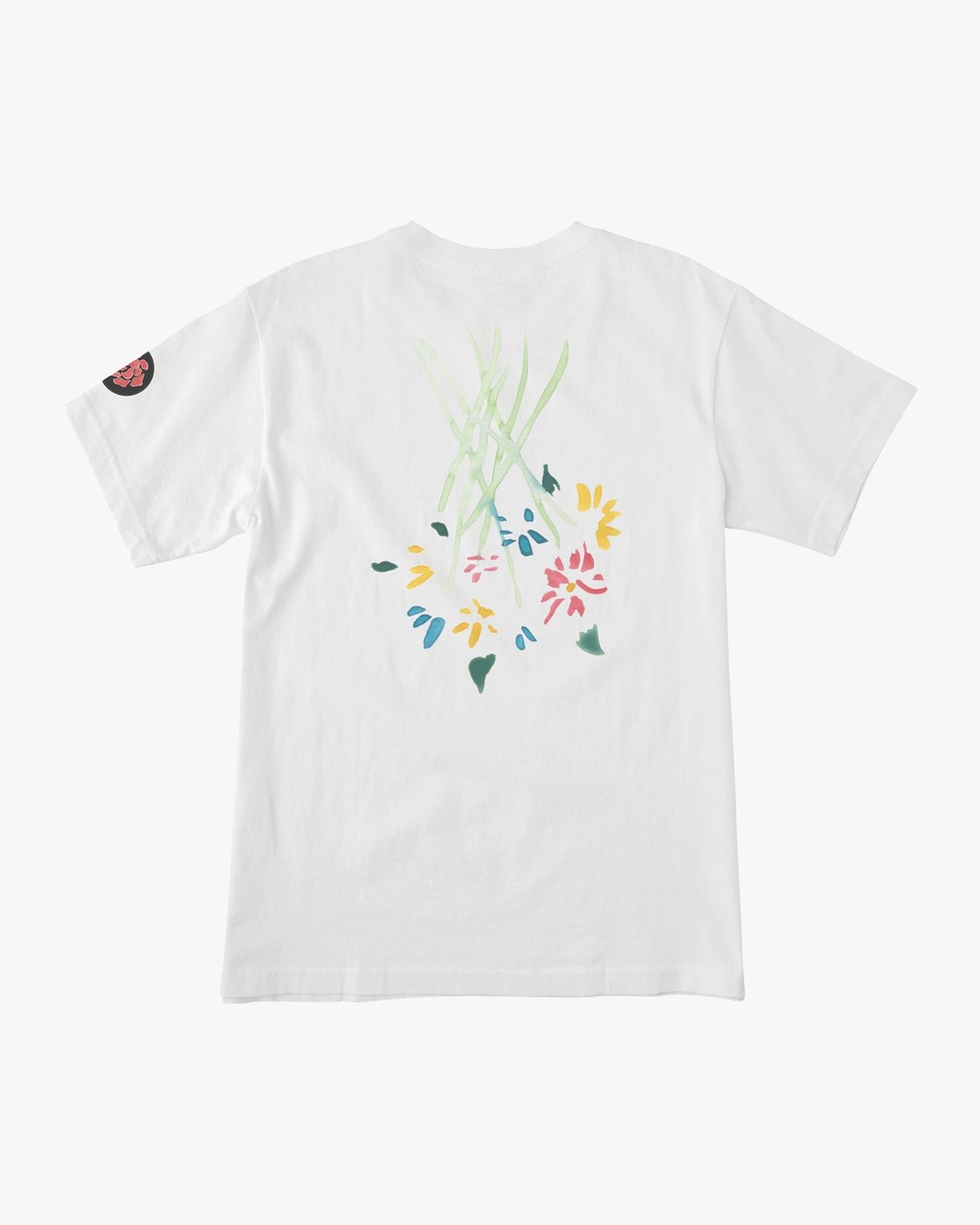 0 AR Lottie Flowers T-Shirt White M414URLF RVCA