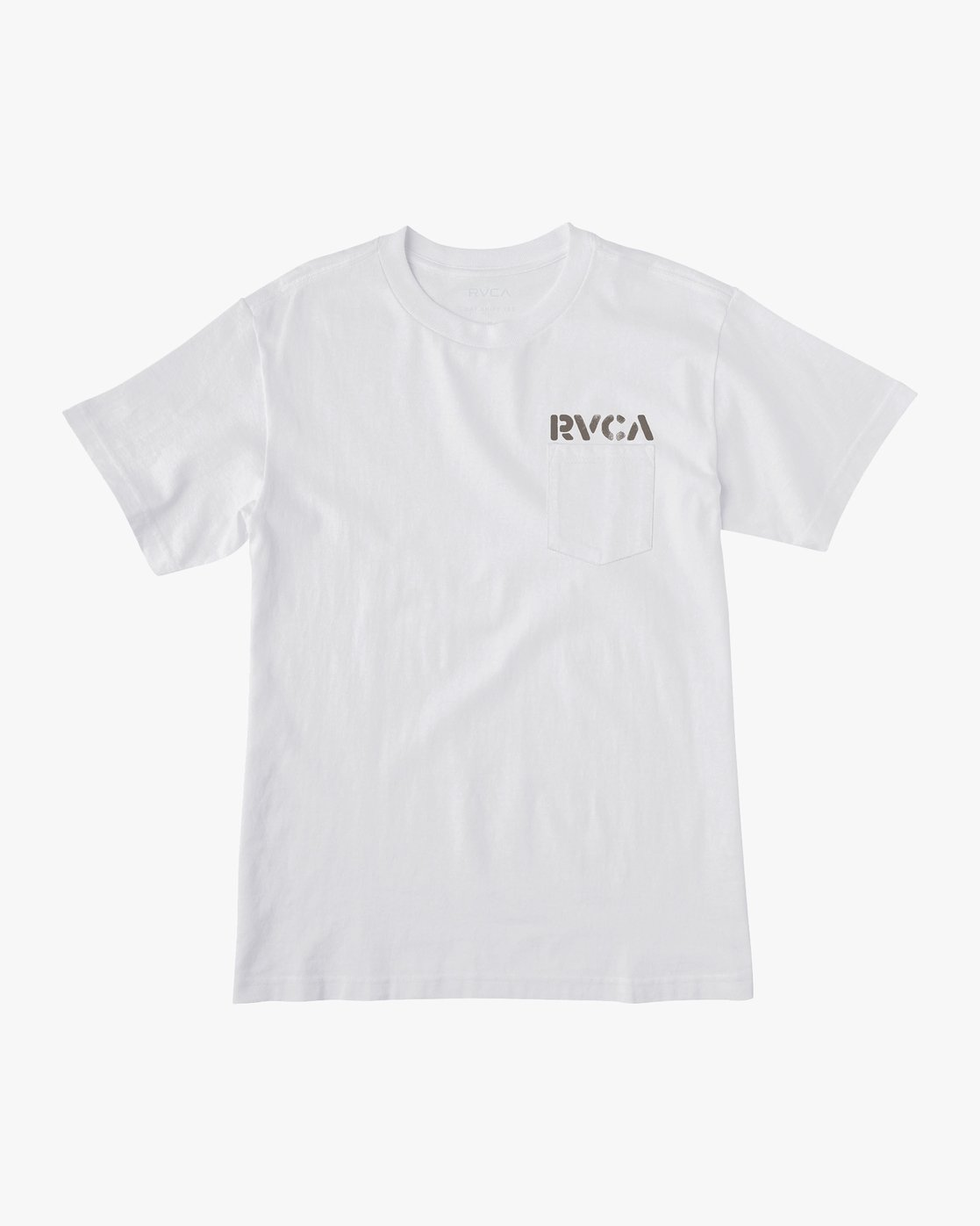 1 Peace Out T-Shirt White M414VRPE RVCA
