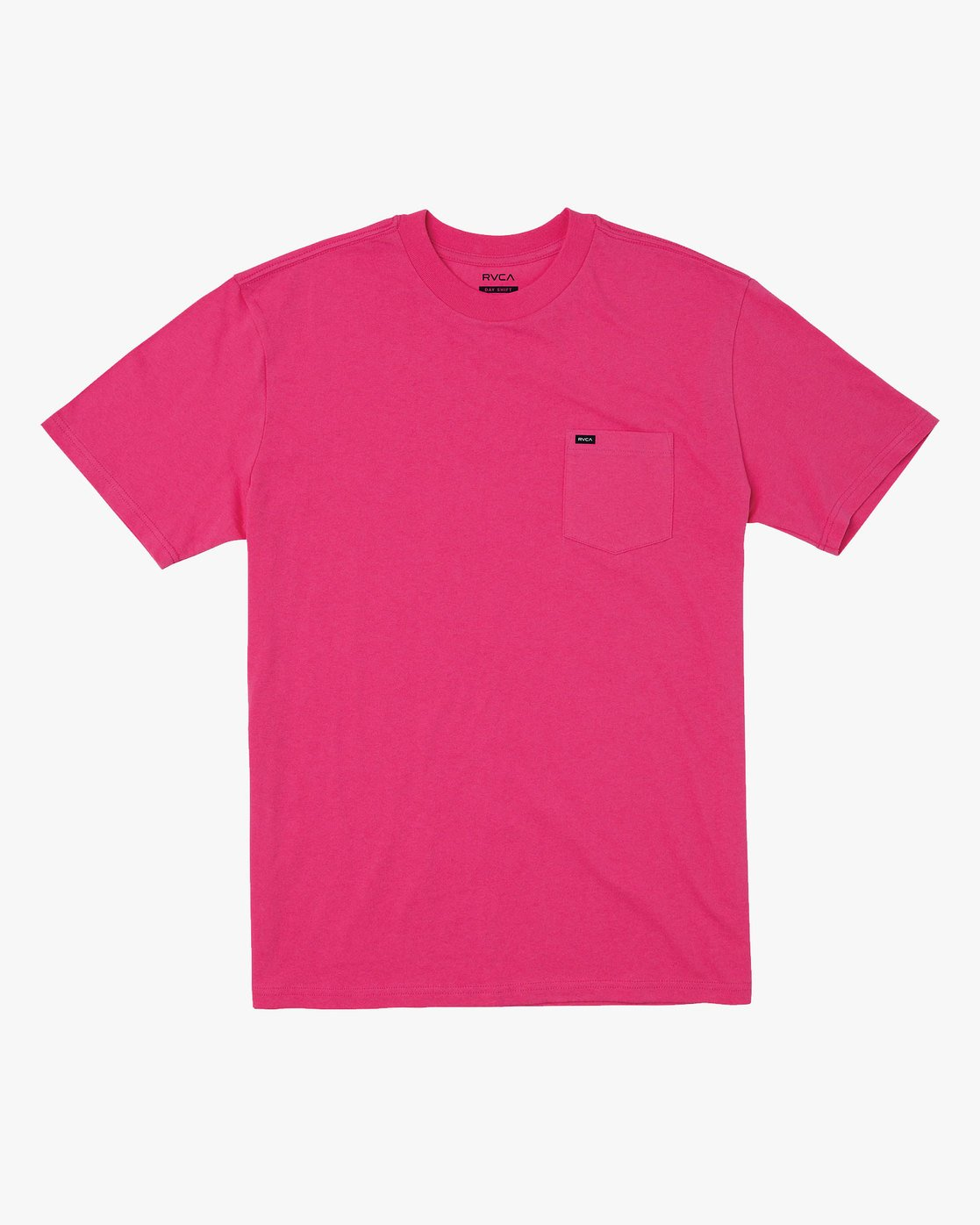 0 SOLO LABEL SHORT SLEEVE TEE TEE Pink M414VRSO RVCA