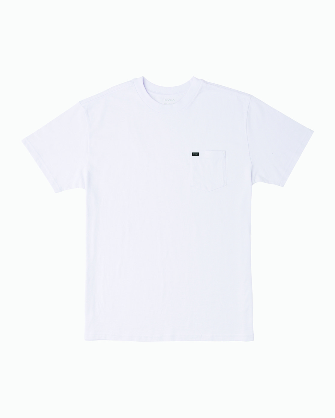 0 Dayshift Solid Label T-Shirt White M414VRSO RVCA