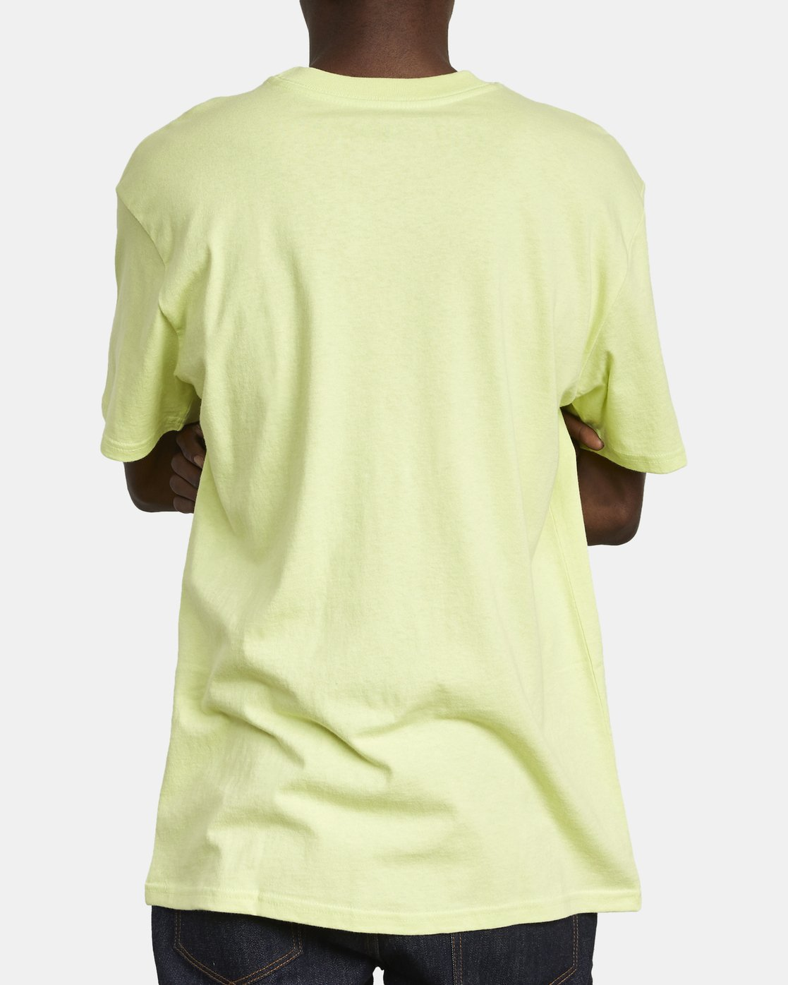 5 SOLO LABEL TEE Yellow M414VRSO RVCA
