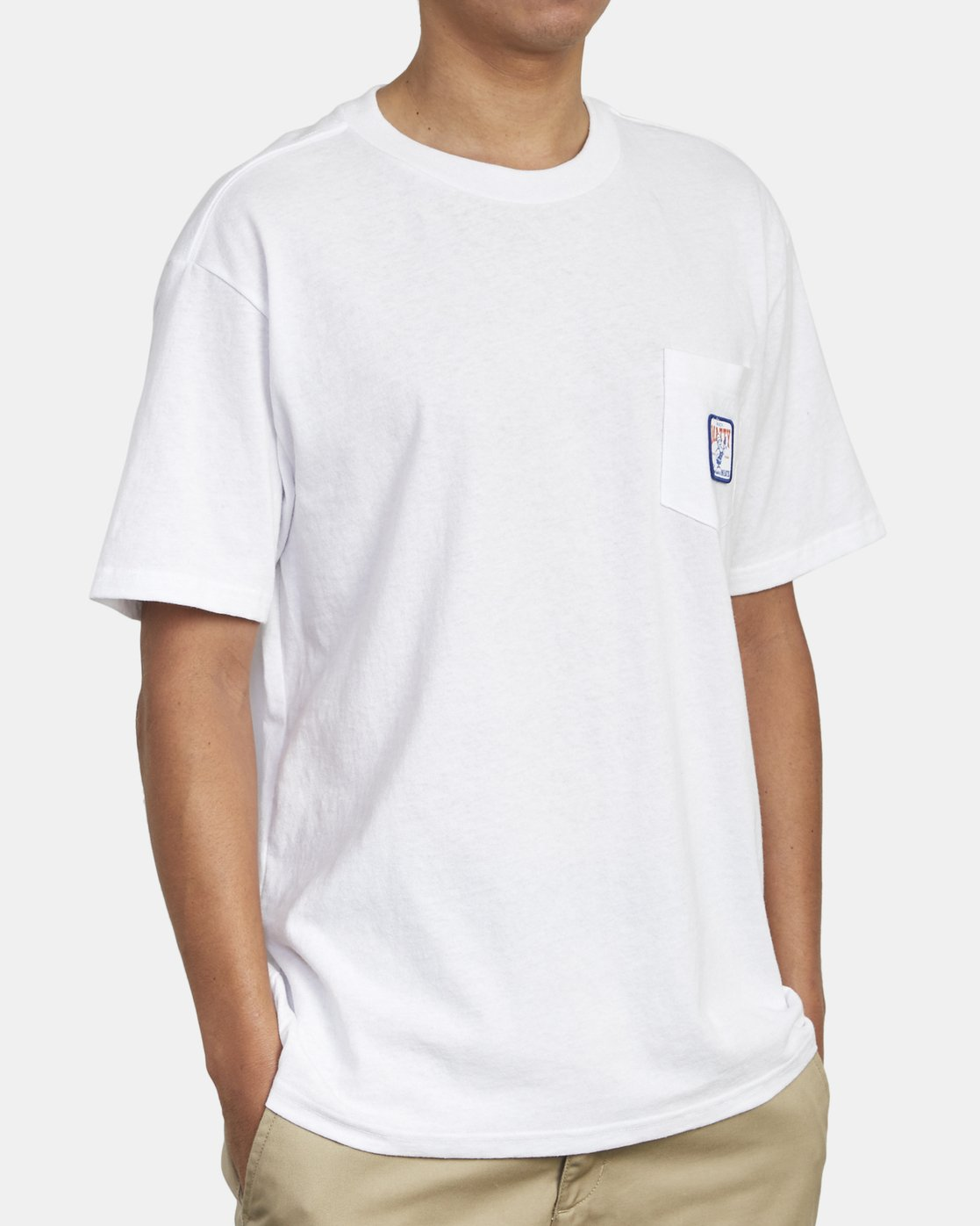 4 MATTY'S POCKET TEE White M414WRGM RVCA
