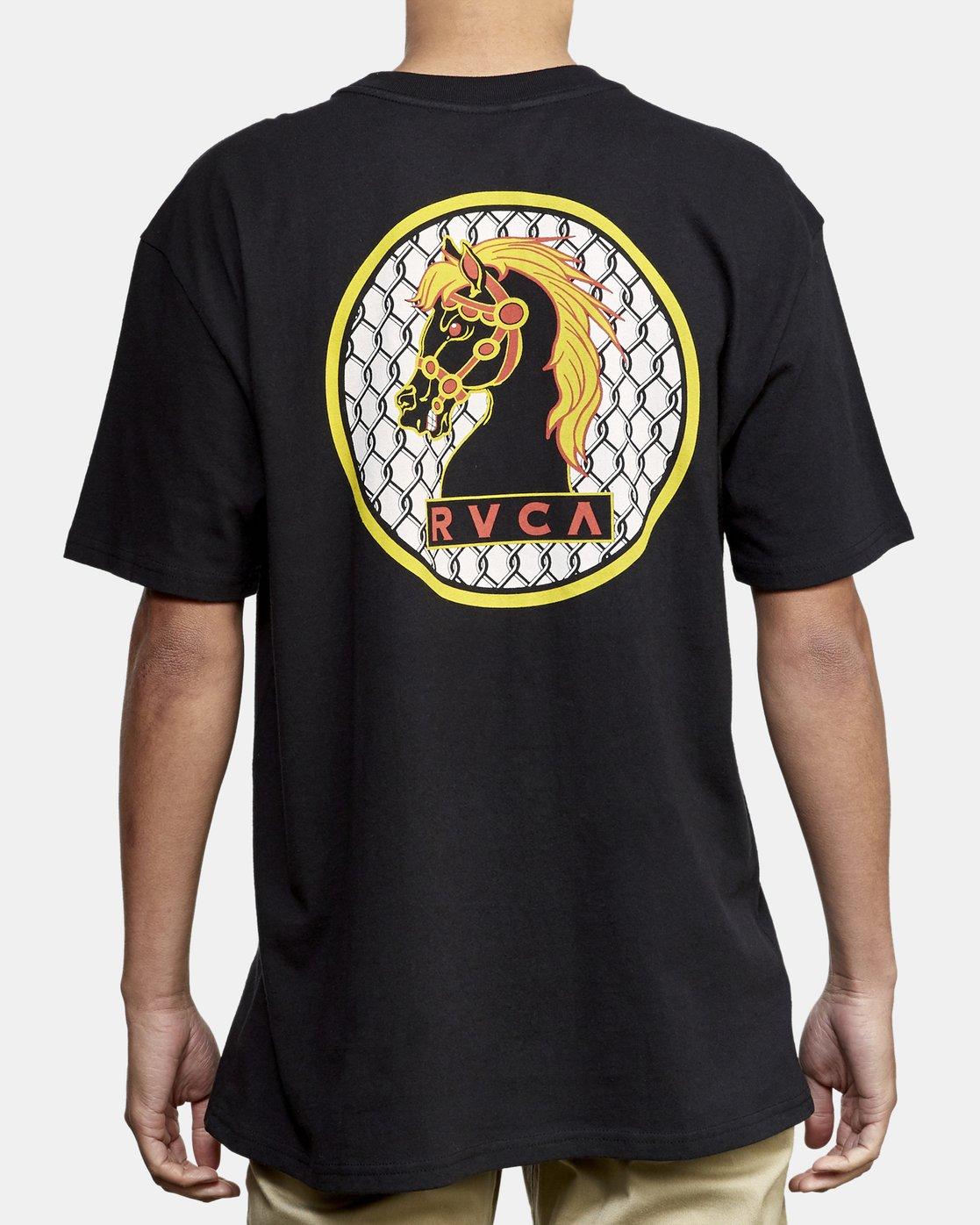 4 Ben Venom Knight Me T-Shirt Black M414WRKM RVCA