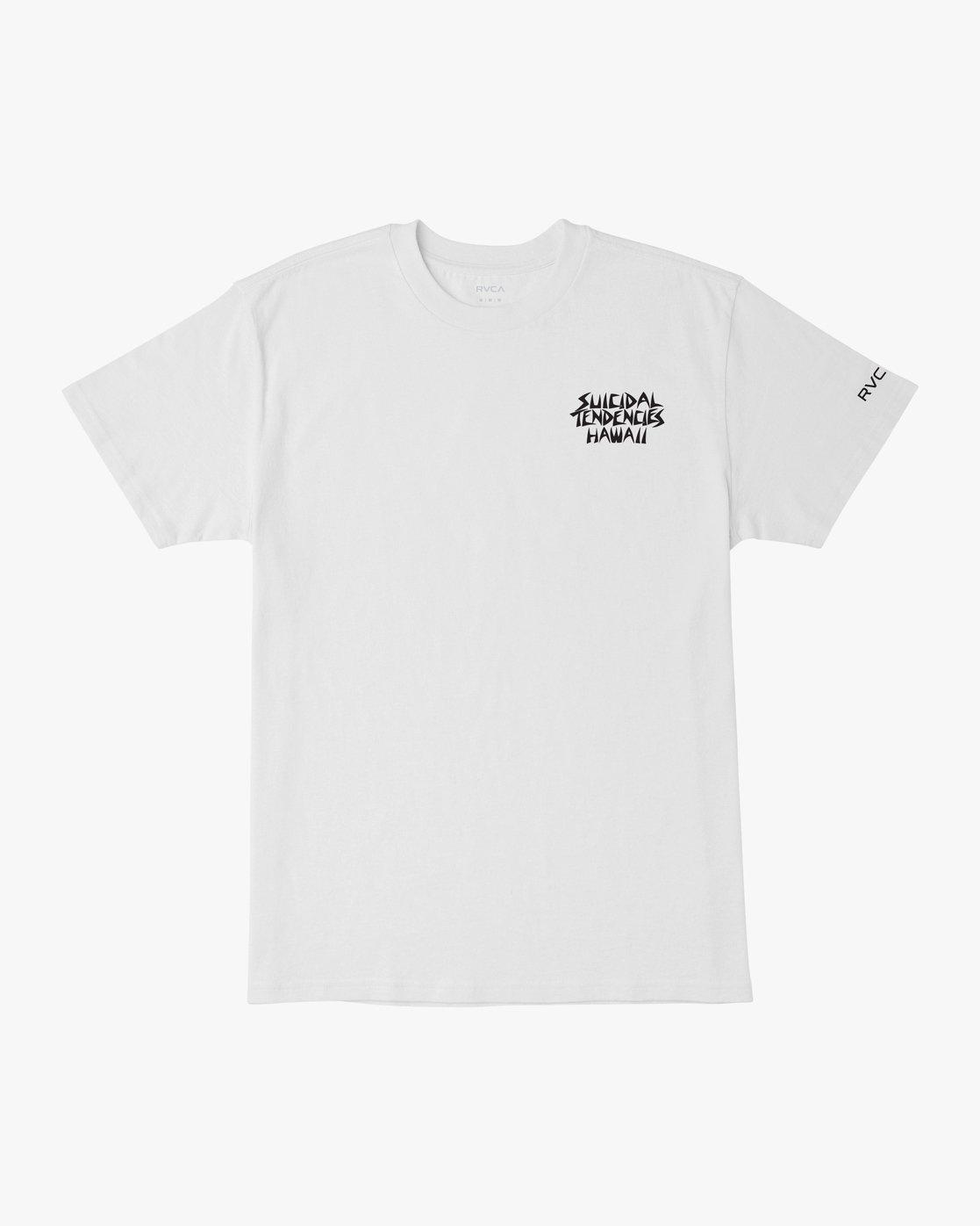 1 RVCA x Suicidal Tendencies T-Shirt White M419TRSU RVCA