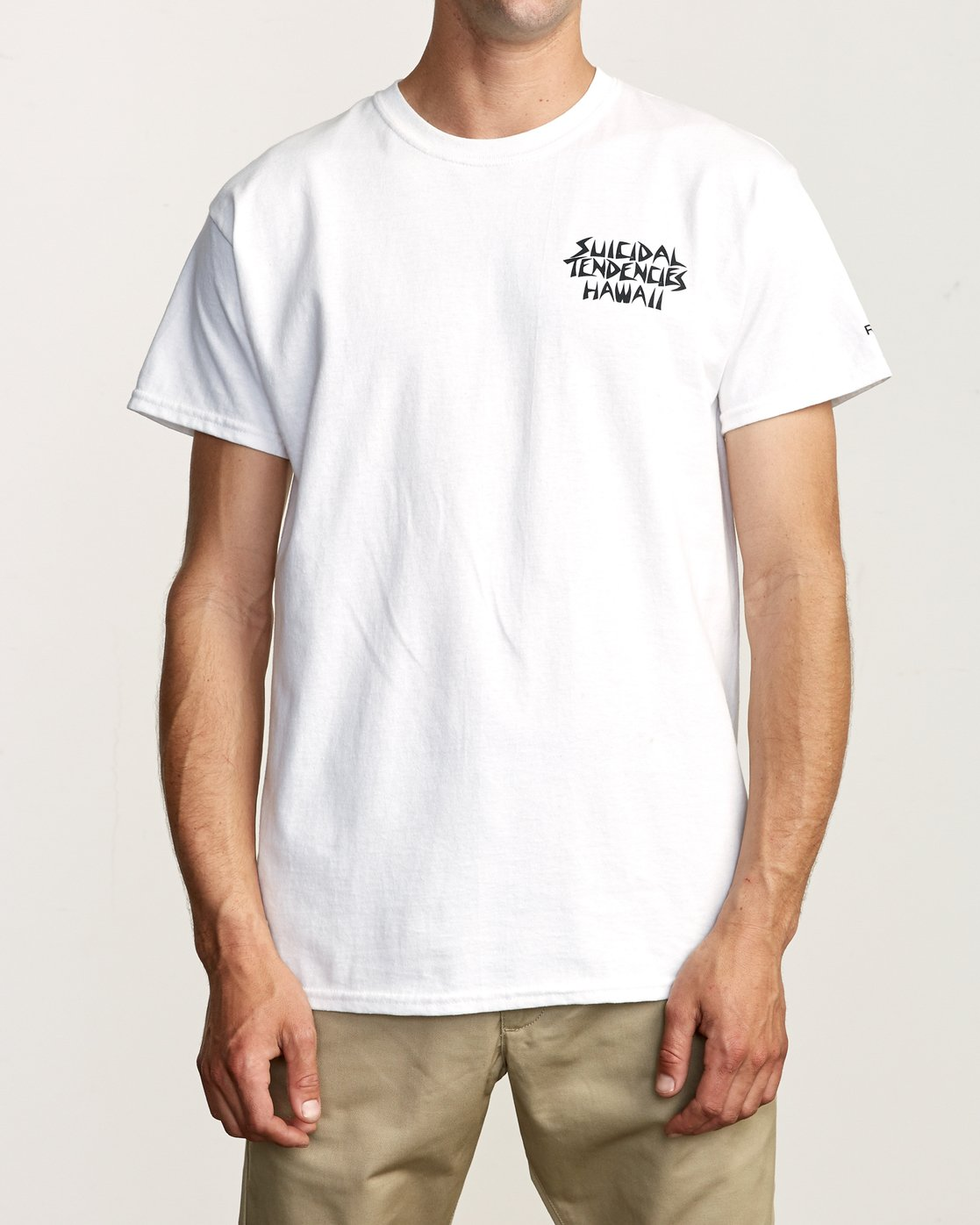 2 RVCA x Suicidal Tendencies T-Shirt White M419TRSU RVCA