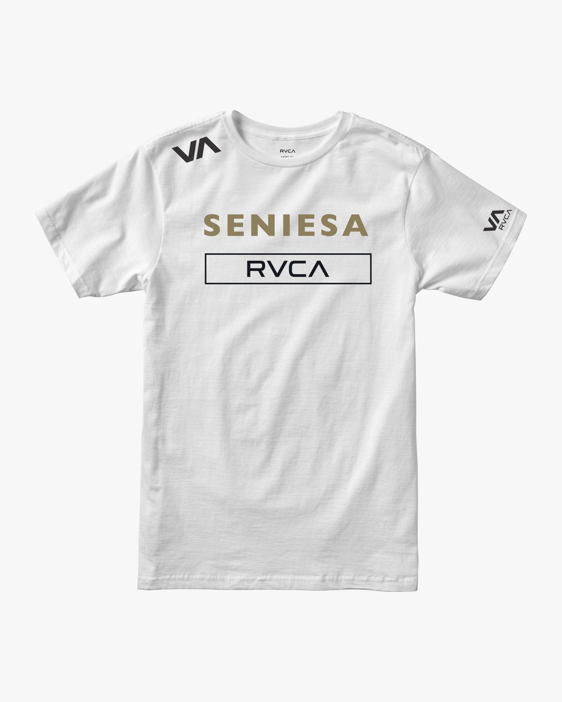 0 Seniesa Walkout Fight T-Shirt White M419URSE RVCA