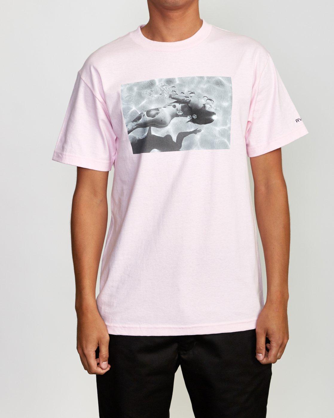 2 Deanna BL Tokyo T-Shirt Pink M419VRDT RVCA