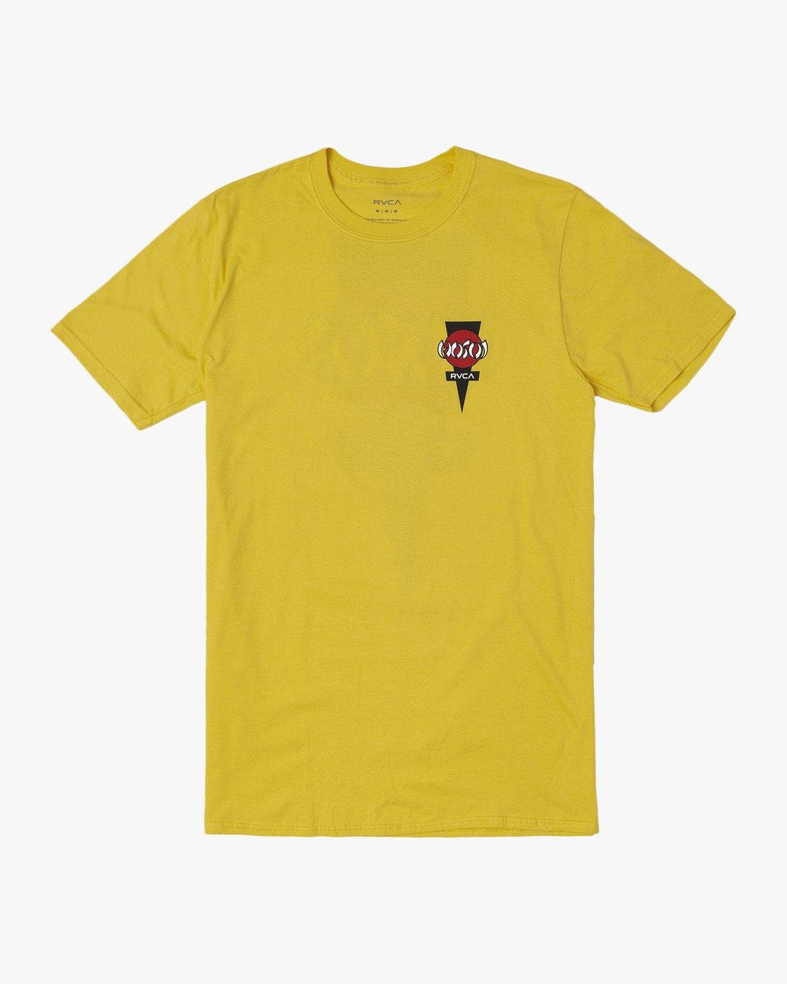 0 RVCA HOSOI SS Yellow M419WRYH RVCA