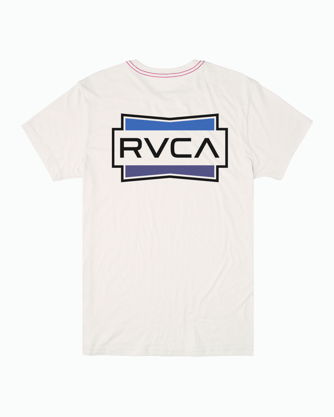 1 DEMO SHORT SLEEVE TEE White M4202RDE RVCA