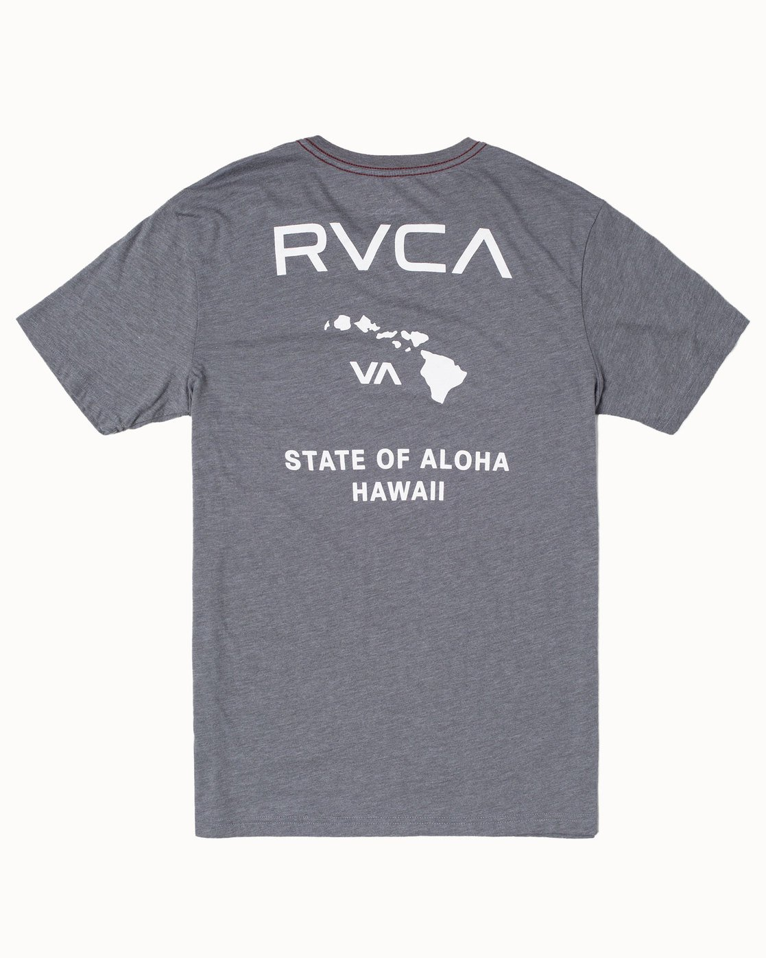1 STATE OF ALOHA Grey M4203RSO RVCA