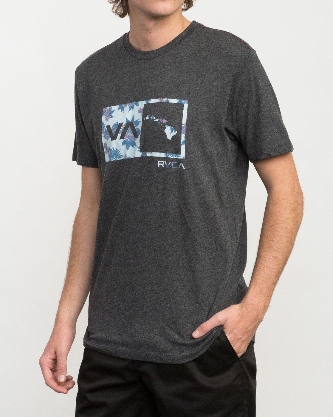 2 Floral Balance Box T-Shirt  M420PRFS RVCA