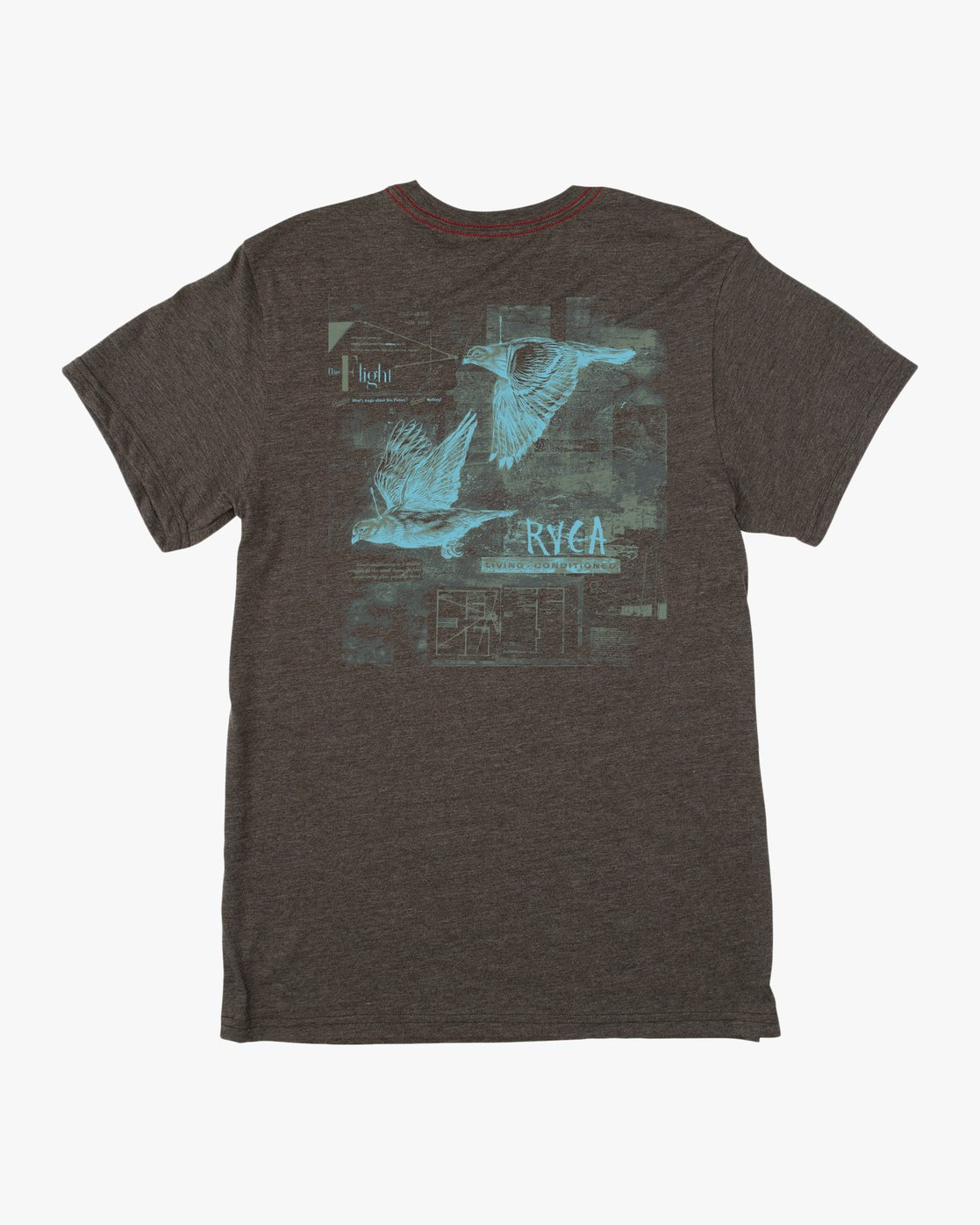 0 Living Conditions Ben Horton T-Shirt  M420PRLI RVCA
