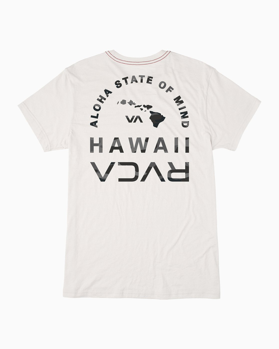 0 Mind State T-Shirt White M420PRMS RVCA