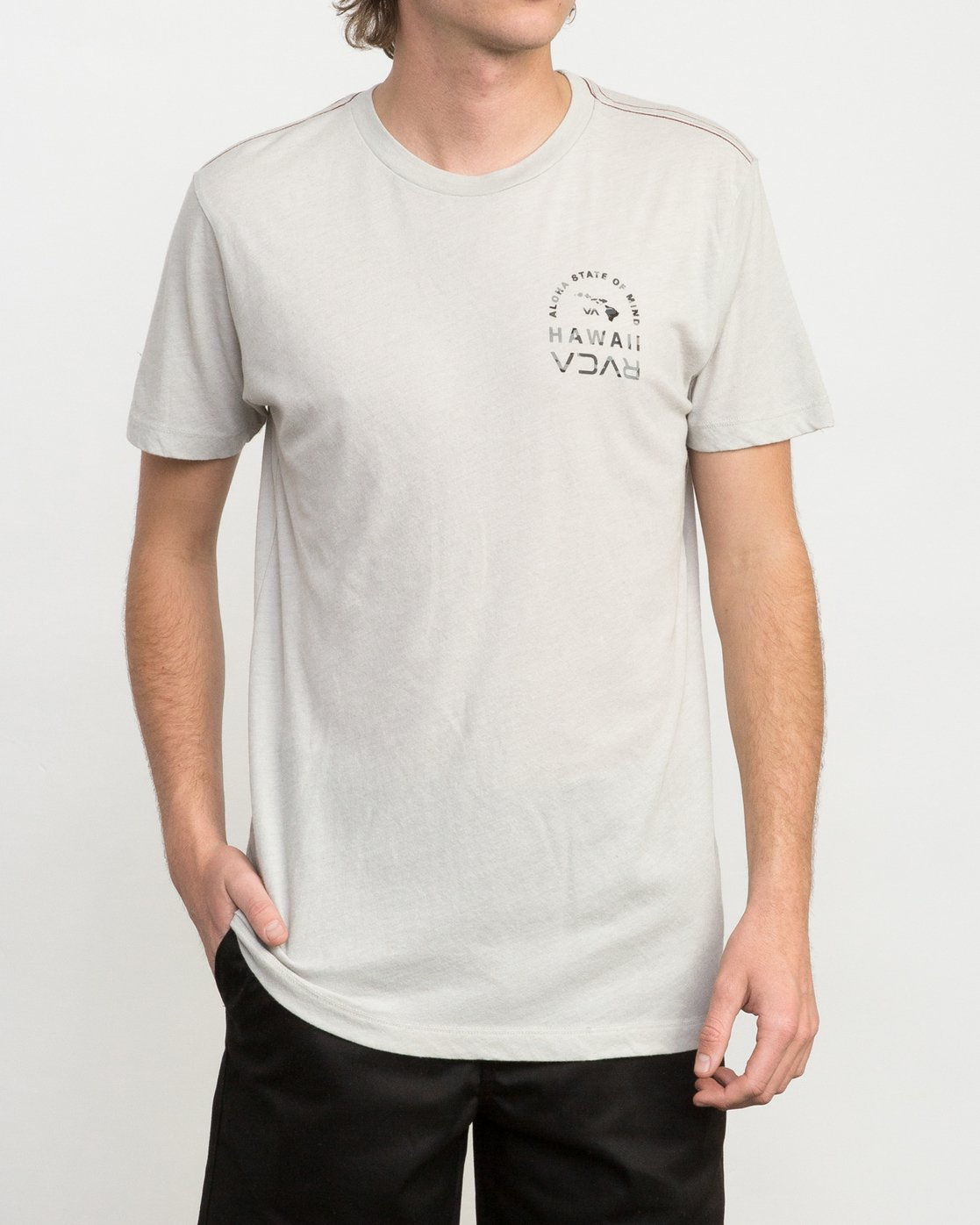 2 Mind State T-Shirt  M420PRMS RVCA