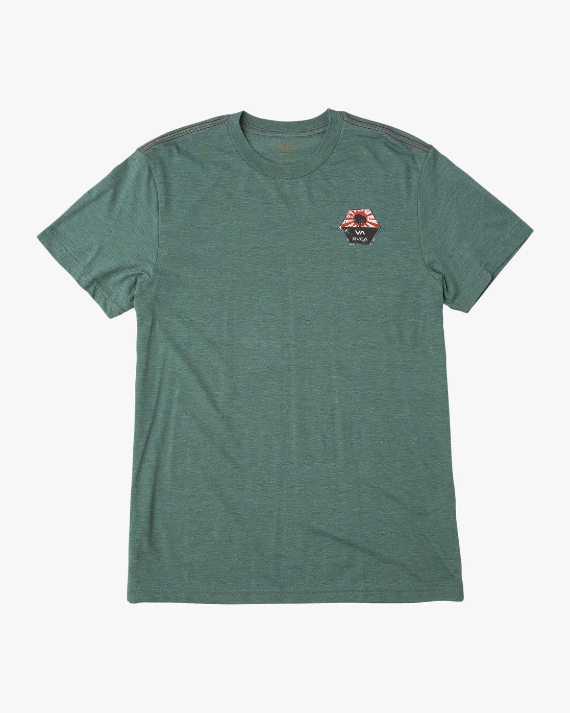 1 Bruce Irons T-Shirt Green M420QRBR RVCA