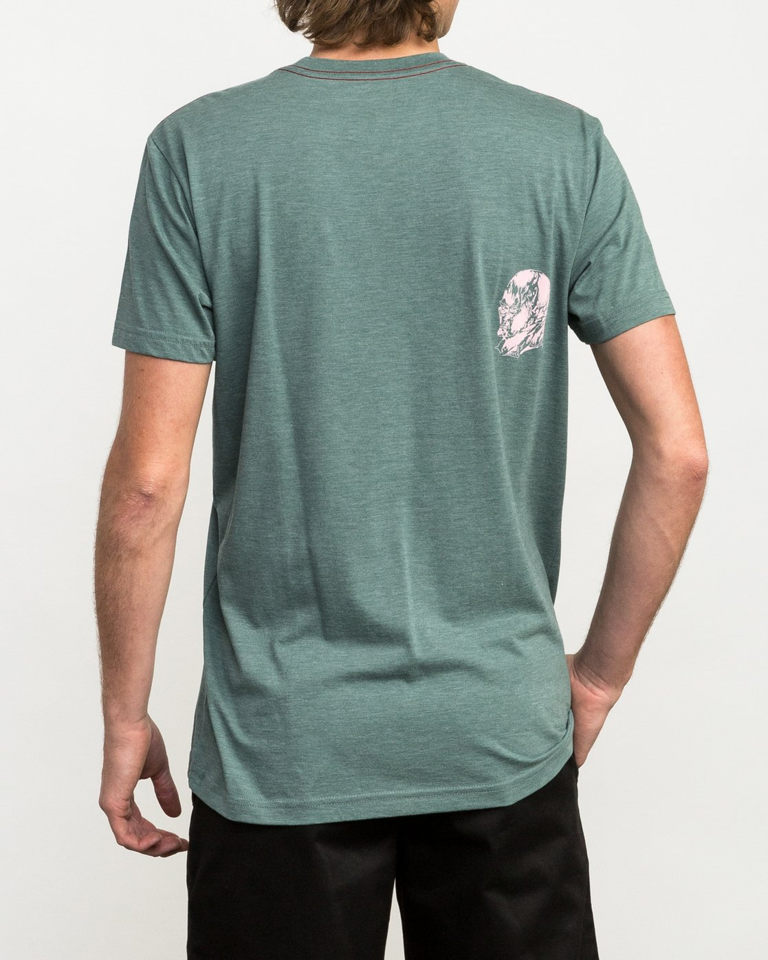 4 Francesco 4Heads T-Shirt Green M420QRHE RVCA