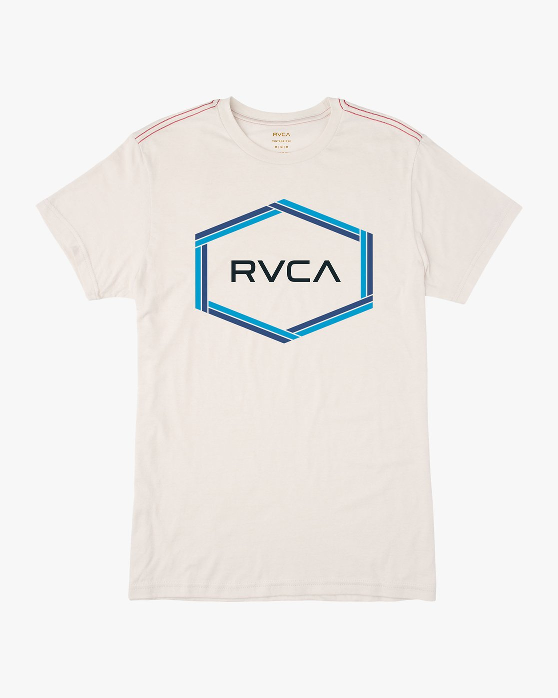 0 Hexest T-Shirt White M420QRHX RVCA