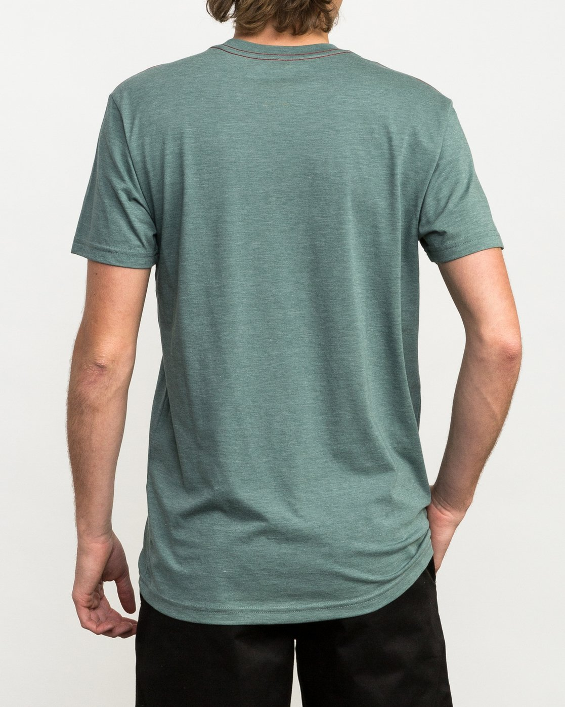 3 Pinner All The Way T-Shirt Green M420QRPI RVCA