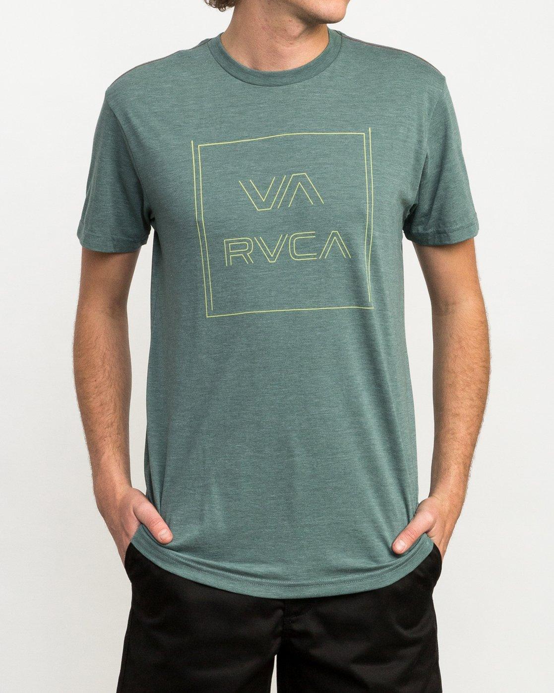1 Pinner All The Way T-Shirt Green M420QRPI RVCA
