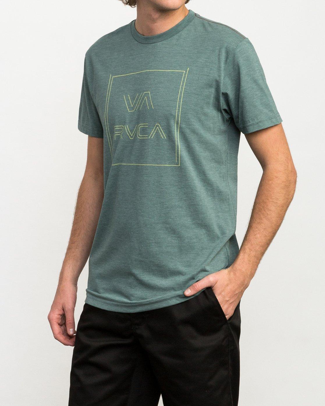 2 Pinner All The Way T-Shirt Green M420QRPI RVCA
