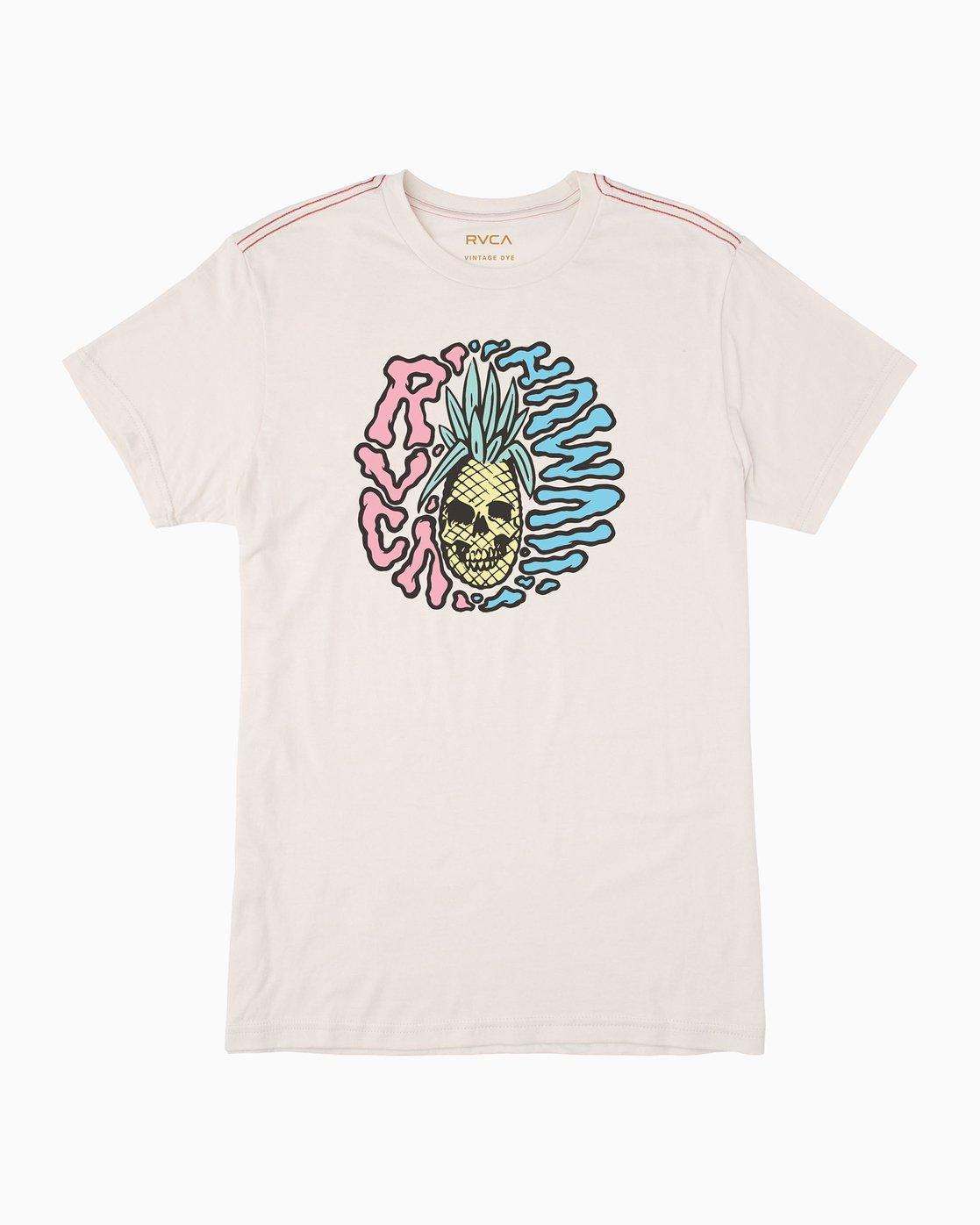 0 Psycho Pino T-Shirt White M420QRPS RVCA