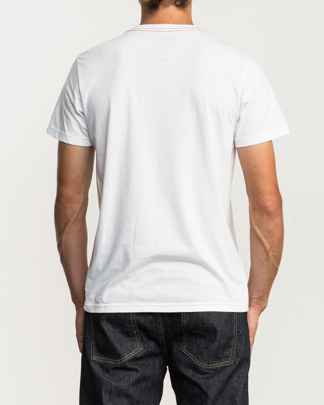 3 Psycho Pino T-Shirt White M420QRPS RVCA