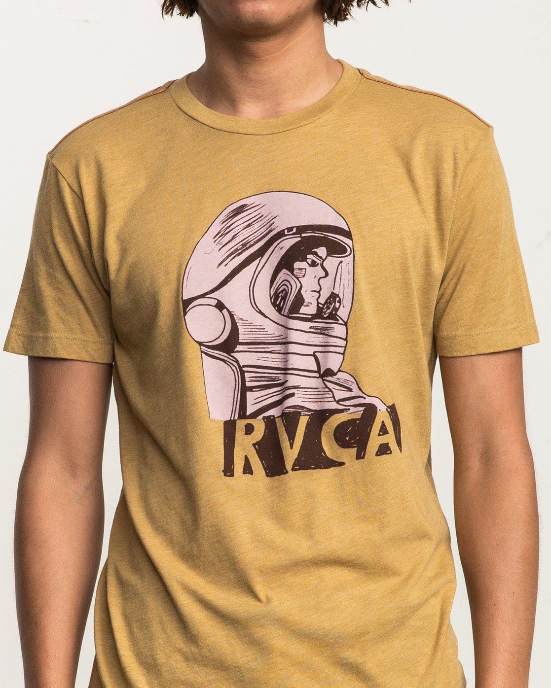 4 Astro Grillo T-Shirt  M420SRAS RVCA