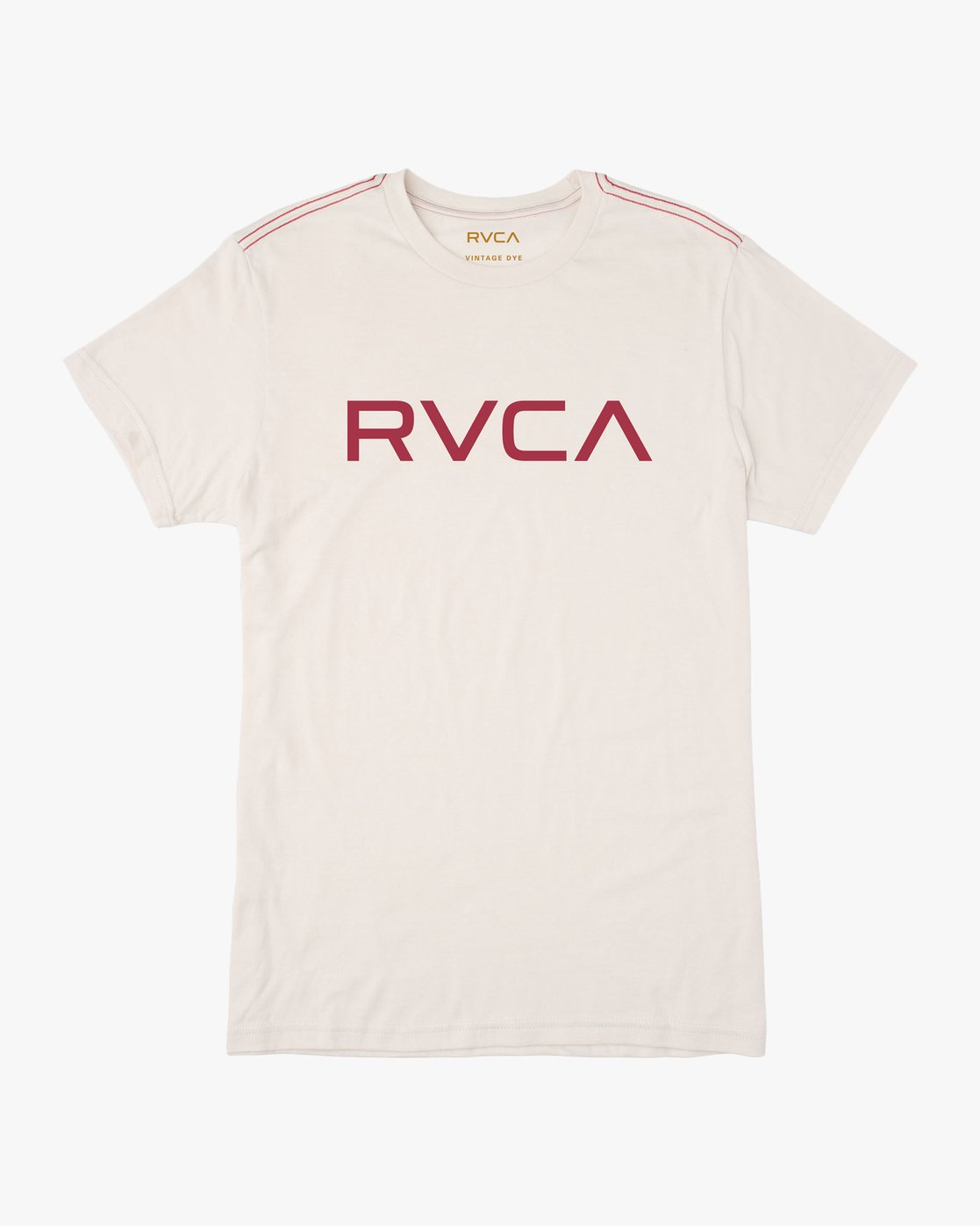 0 Big RVCA T-Shirt White M420SRBI RVCA